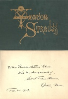 Yawcob Strauss Series: Yawcob's Dribulations, Leedle Yawcob Strauss, Der Oak and der Vine, and Vas Marriage a Failure? Inscribed by the author. Humor, Charles Follen Adams.