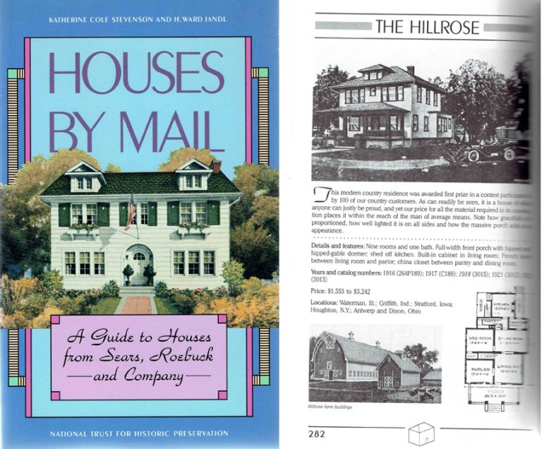 Houses By Mail: A Guide to Houses from Sears, Roebuck and Company. Architectural History, Katherine Cole Stevenson, H. Ward Jandl.