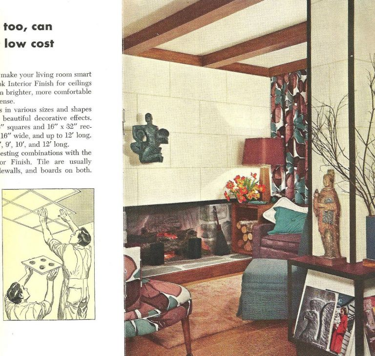 How to Remodel an Old Home. Building Materials, Armstrong Cork Company.