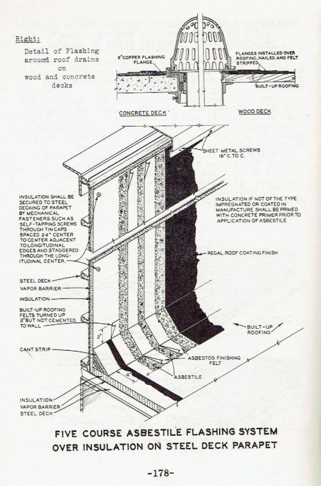 Application Instructions for Johns-Manville Built up Roofing, Pocket Edition. Roofing, Johns- Manville.
