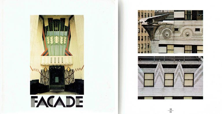 Facade: A decade of British and American Commercial Architecture. Art Deco, Tony Mackertich, Peter.