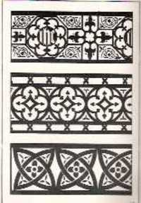 A FEW SUGGESTIONS FOR ORNAMENTAL DECORATION IN PAINTERS' AND DECORATORS' WORK. Paint, F. Scott Trade catalog Mitchell, compiler.