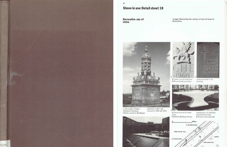 Stone in Building: Its Use and Potential Today. Stone, John Ashurst, Francis G. Dimes.