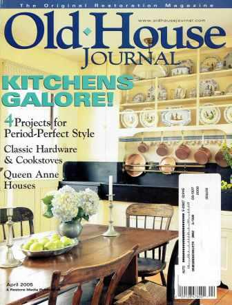 Lot of Old House Journal magazines, 1997-2008. Restoration, Old House Journal.