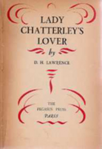 Lady Chatterley's Lover. Lawrence, D. H. Lawrence.