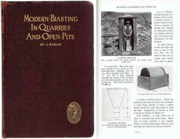 Modern Blasting in Quarries and Open Pits. Stone, J. Barab.