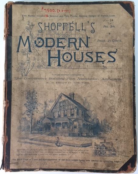Shoppell's Modern Houses, No. 31, 32, 33, 34. Pattern Book, R. W. Shoppell.