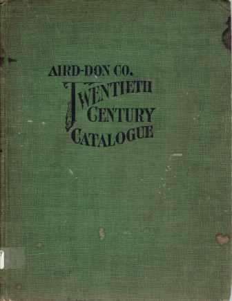 Twentieth Century Catalogue and Price List. Plumbing, Aird-Don Company, formerly Cohoes Tube Works.
