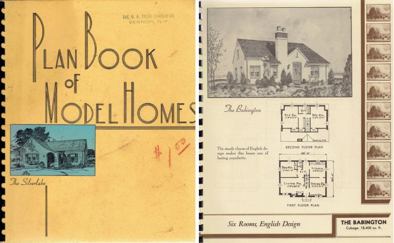 Plan Book of Model Homes. Pattern Book, Nationwide House Plan Service.