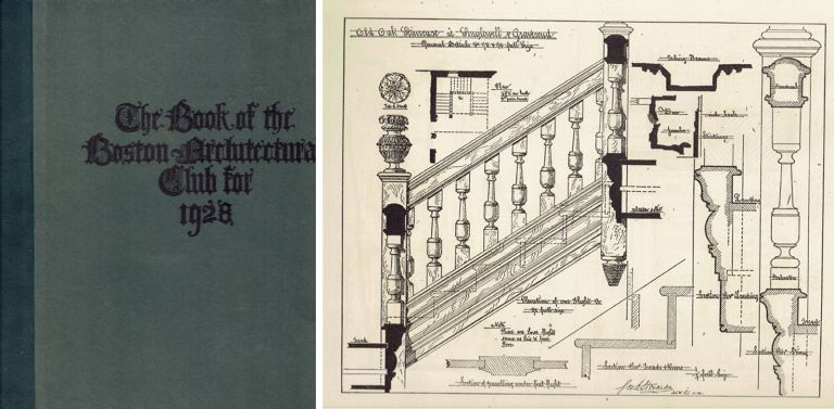 The Year Book of the Boston Architectural Club; containing examples of English Architecture and Ornament. Great Britain, Boston Architectural Club.