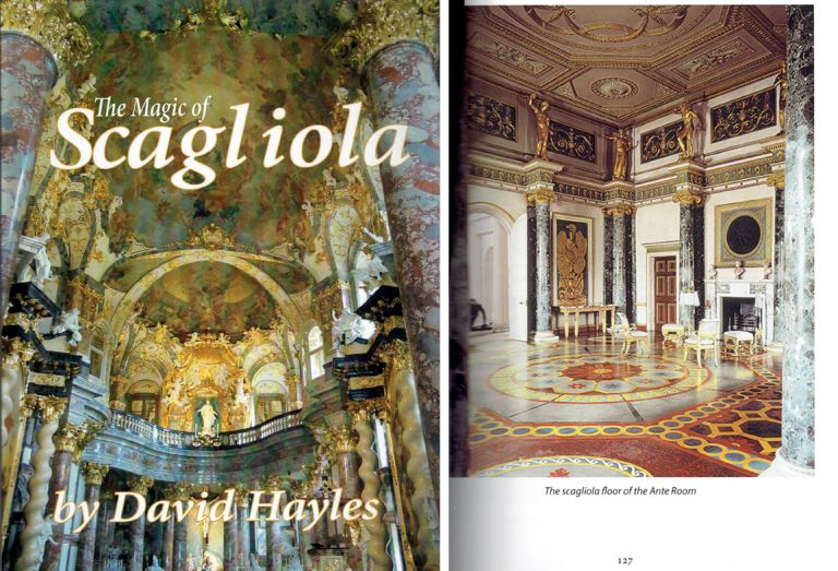 The Magic of Scagliola (Limited edition publication) - Signed by the Author. Plastering, David Hayles.