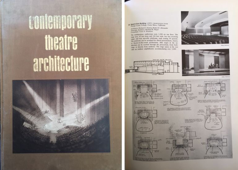 Contemporary Theatre Architecture. Architectural History, Maxwell Silverman, Ned A. Bowman.