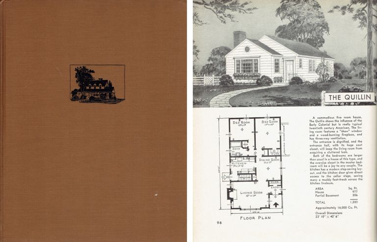 Book of Small Houses. Architecture, Harold E. Group.