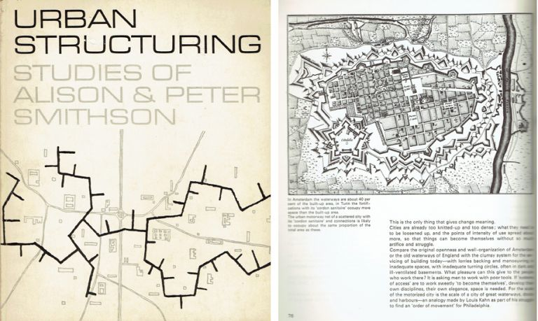 Urban Structuring. Urban Studies, Alison and Peter Smithson.