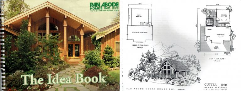 The Idea Book. Pattern Book, Inc Pan Abode Homes.