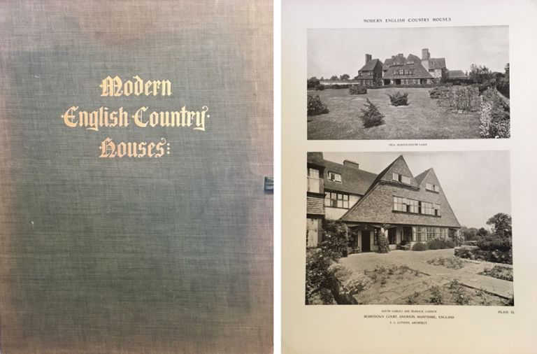 Modern English Country Houses. Building as Envelope, Frank Chouteau Brown.