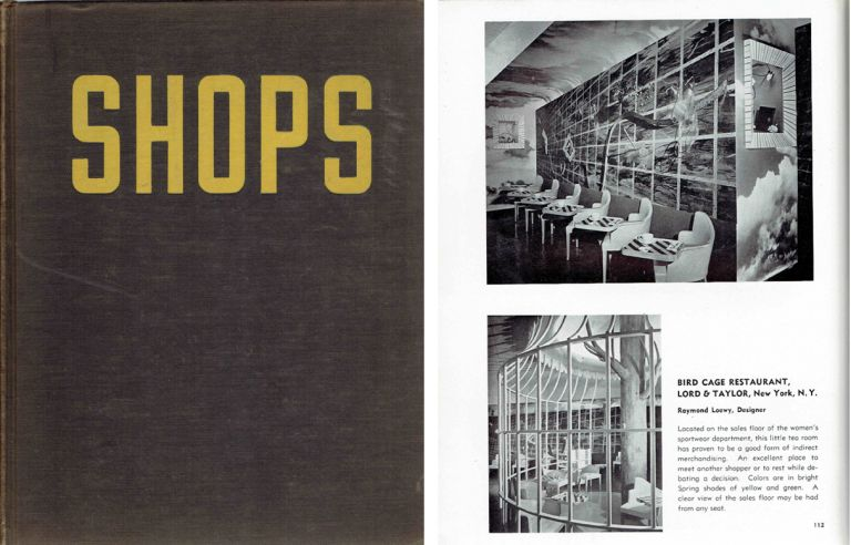 Contemporary Shops in the United States. Architectural History, Emrich Nicholson.