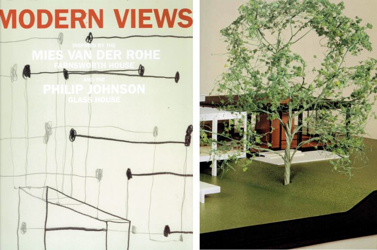 Modern Views; inspired by the Mies van der Rohe Farnsworth House and the Philip Johnson Glass House. Architectural History, National Trust for Historic Preservation.