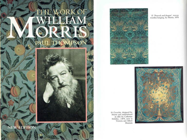 The Work of William Morris. Biography, Paul Thompson.