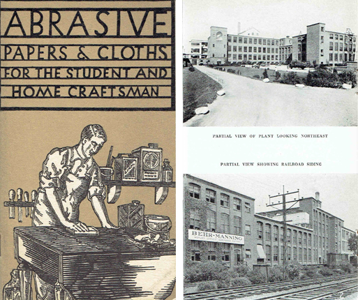 Abrasive Papers & Cloths for the Student and Home Craftsman. Building Materials, Behr-Manning.