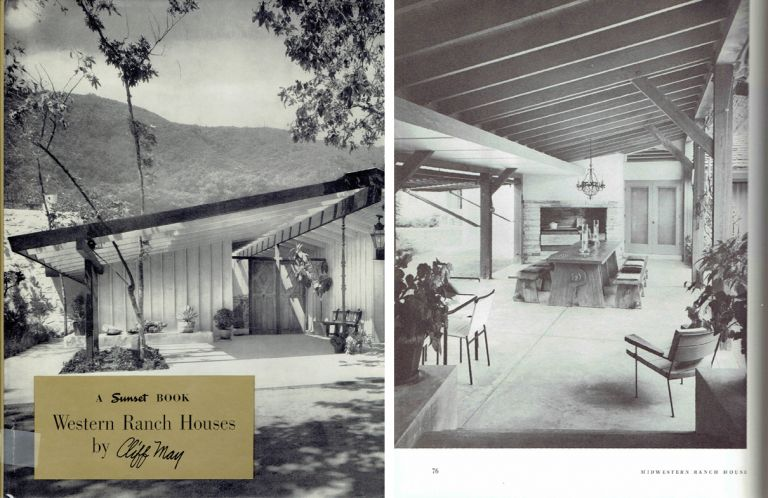 A Sunset Book / Western Ranch Houses. Building as Envelope, Cliff May.