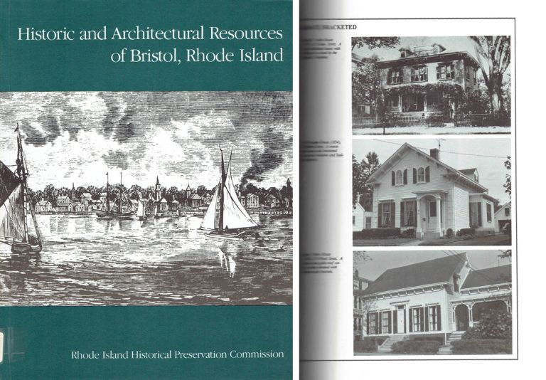 Historic and Architectural Resources of Bristol, Rhode Island - signed by the author. New England, Elizabeth Warren, Pamela A. Kennedy.