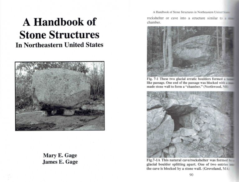 A Handbook of Stone Structures in Northeastern United States. Architectural History, Mary and James Gage.