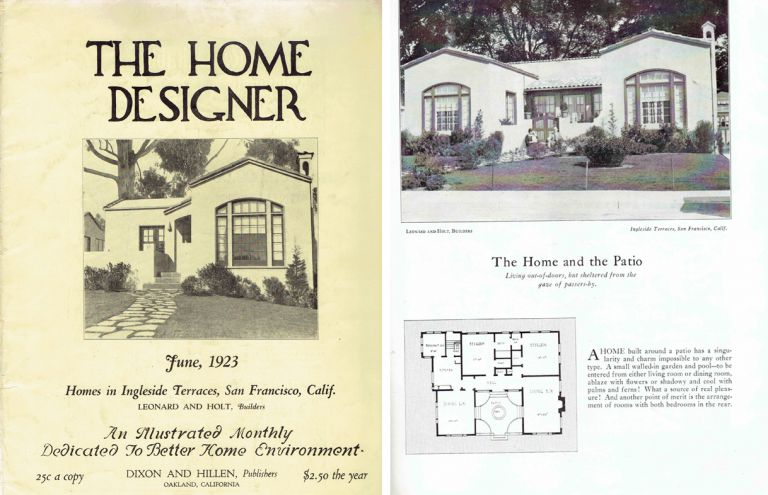 The Home Designer, An Illustrated Monthly Dedicated To Better Home Environment. Pattern Book, Walter W. Dixon.