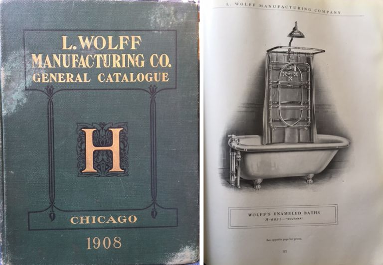General Catalog H 1908. Plumbing, L. Wolff Manufacturing Co.