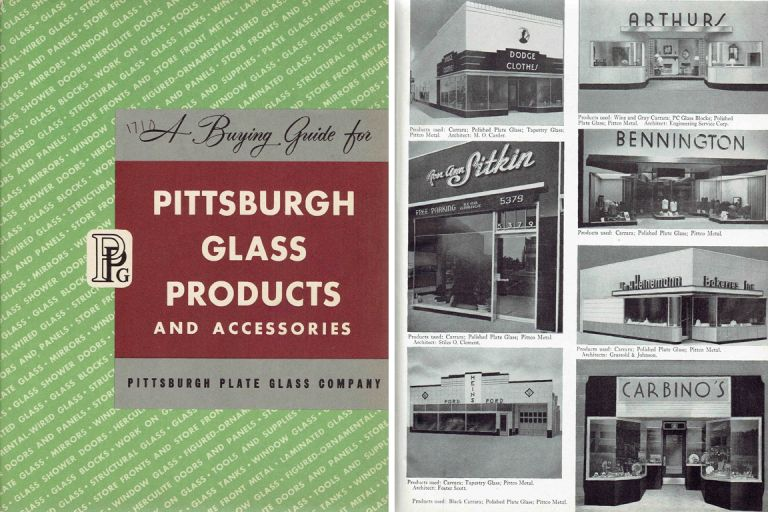 A Buying Guide for Pittsburgh Glass Products and Accessories. Glass, Pittsburgh Plate Glass Co.