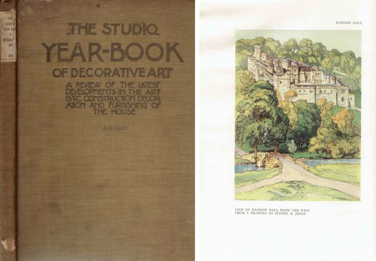 The Studio Yearbook of Decorative Art, 1921; A Review of the Latest Developments in the Artistic Construction Decoration and Furnishing of the House. Design, Geoffrey Holme.
