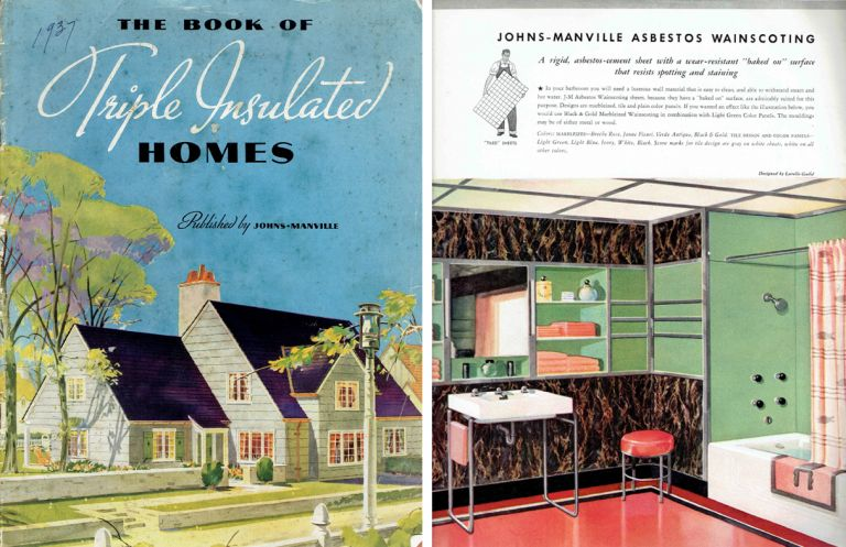 The Book of Triple Insulated Homes. Pattern Book, Johns-Manville Corporation.