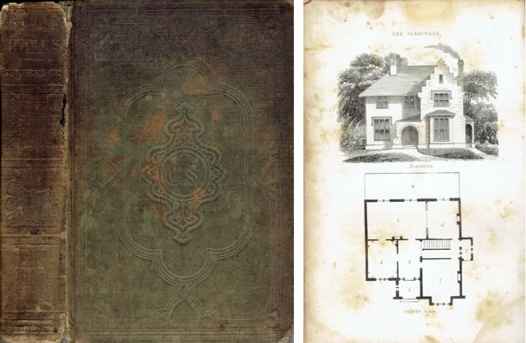 Rural Homes; or sketches of houses suited to American country life with original plans, designs, etc. American, Gervase Wheeler.