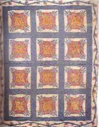 Quilts and Women of the Mormon Migrations; Treasures of Transition. Textiles, Cross, water.