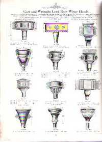 Sanitary Lead Works. Lead, trade catalog Claughton Bros.