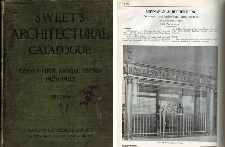 Sweet's Architectural Catalogue 21st Annual Edition (3 volumes complete!); A File of Manufacturers' Catalogs designed for the use of Architects, Engineers, Contractors and others whose practice it is to select, specify or purchase building materials, equipment and allied services. Building Materials, Sweet's Catalog Service.
