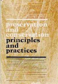 Preservation and Conservation: principles and practices.; Proceedings of the North American International Regional Conference. Restoration, Sharon Timmons.