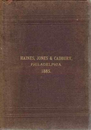 "Cooper, Jones and Cadbury Illustrated Catalogue and Price List (Cover states ""Haines, Jones &..."