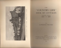 "The ""Country Life"" Book of Cottages (Costing From £150 to £600). Building as Envelope, Lawrence..."