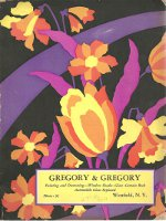 "Niagara Blue Ribbon Catalog (""Gregory & Gregory"" of Westfield, N.Y. printed on cover). Wallpaper,..."