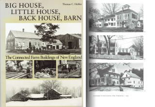 Big House, Little House, Back House, Barn: The Connected Farm Buildings of New England. New...