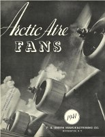 Arctic Aire Fans Catalog and Price List. Interiors, F. A. Smith Manufacturing Co