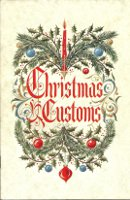 Christmas Customs. Ephemera, Inc Osborne-Kemper-Thomas