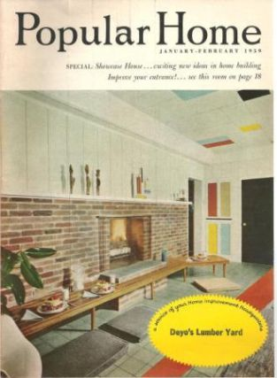 Popular Home; January-February 1959, Vol. 16, No. 1. Building Materials, Robert H. Dougherty