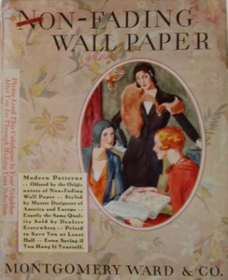 The First Non-Fading Wall Papers for 1931; Time Proved In Over 500,000 Homes. Wallpaper,...