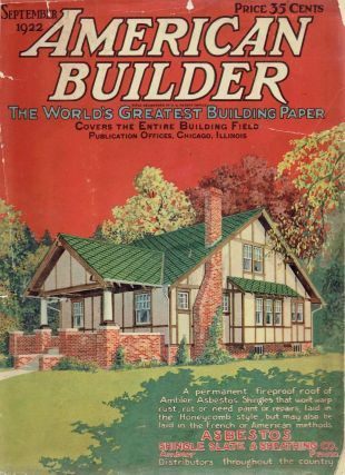 American Builder, the World's Greatest Building Paper, With 16 Home Designs in Colors, November...