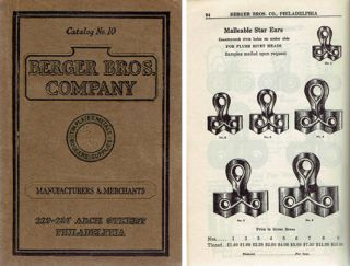 Tinners' and Roofers' Supplies Catalog No. 10. Metal, Berger Brothers Company, trade catalog