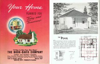 Your Home Planned For Today and Tomorrow. Pattern Book, Inc National Plan Service