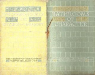 Porcelain Fixtures for Kitchen and Laundry; & Bathrooms of Character (2 booklets in 1). Plumbing,...