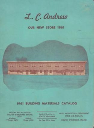 1961 Building Materials Catalog. Building Materials, L C. Andrew